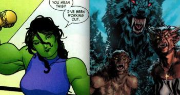 She-Hulk showing muscles, Oliver Copiel, XFactor #223 cover, David Yardin, Marvel Comics