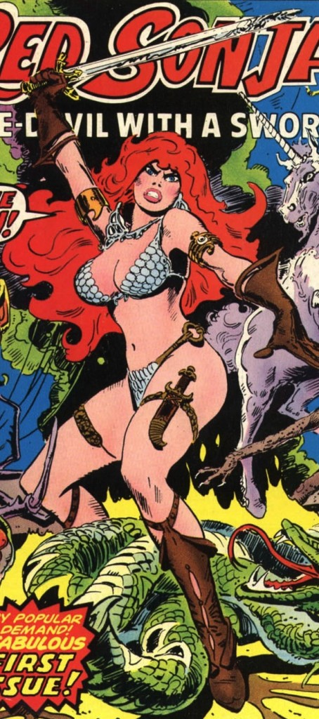 Red Sonja, Roy Thomas and Barry Windsor-Smith, Marvel Comics, Bronze Age
