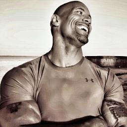 Dwayne Johnson, The Rock, twitter profile: @TheRock