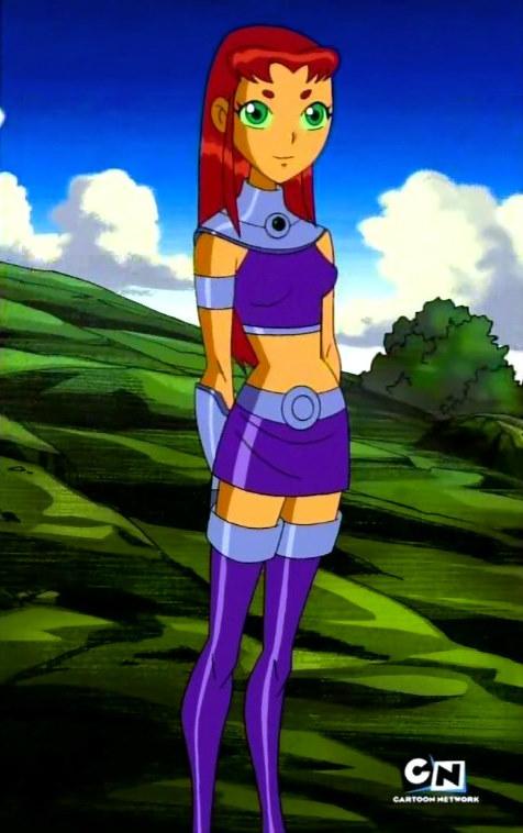 Starfire, Teen Titans Animated, DC Comics, Warner Bros