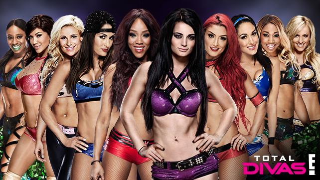 Total Divas, WWE, WWE Network, E!, lineup 2015