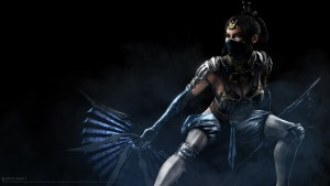 Mournful Kitana, variant design, shown by NeatherRealm on twitch, republished buy gamespot, February 2015