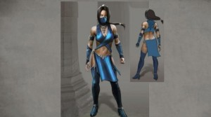 Kitana character design concept art, shown by NeatherRealm on twitch, republished buy gamespot, February 2015