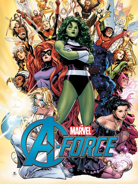 A-Force #1. W: Wilson & Bennett. A: Molina. Marvel comics, 2015
