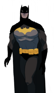 Batman, DC Comics, fan art by Lara Margarida, 2015