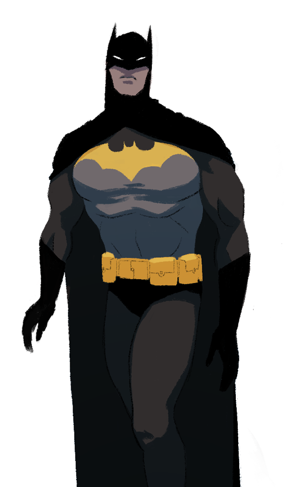 Batman, DC Comics, fan art by Lara Margarida, 2015