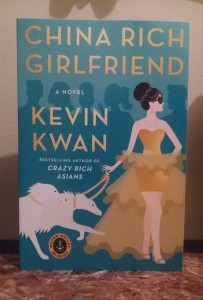 China Rich Girlfriend by Kevin Kwan. June 16th 2015. Random House/Knopf Doubleday.