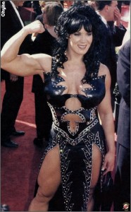Chyna, Joanie Laurer, red carpet, 2000