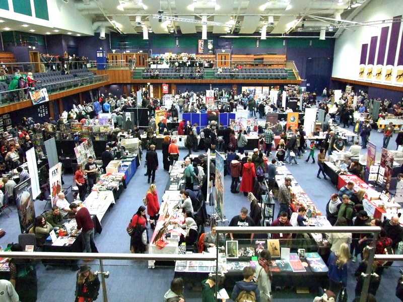The con floor, Cheltenham Racecourse, OKTrueBelievers, 2015