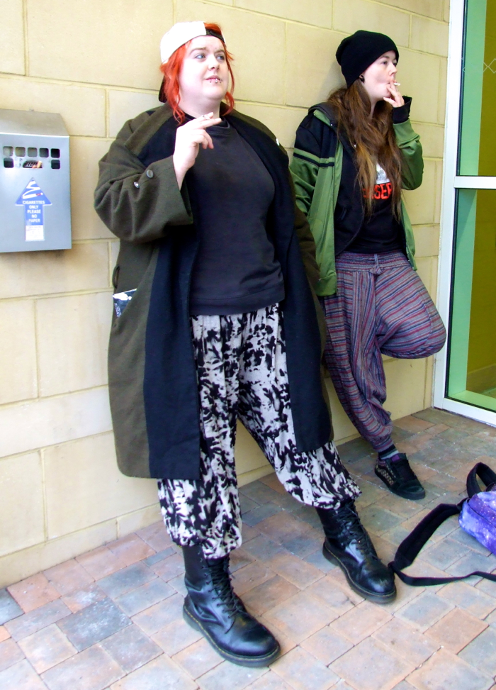 Jay & Silent Bob Cosplayers, OK True Believers, Cheltenham Racecourse, 2015