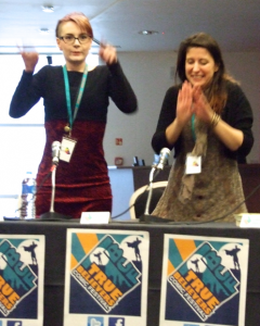 Kate Brown & Emma Viecelli, OK True Believers Comics Festival, 2015