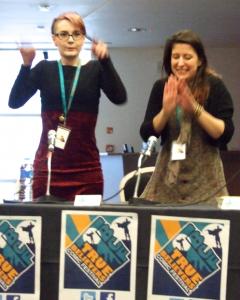Kate Brown & Emma Viecelli, OK True Believers Comics Festival, 2015