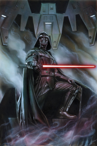 Darth Vader #1 cover, artist Adi Granov, Marvel Comics 2015