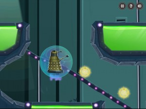 Doctor Who and the Dalek iOS game