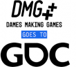DMG goes to GDC logo