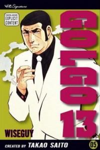 Golgo 13, manga, Saito