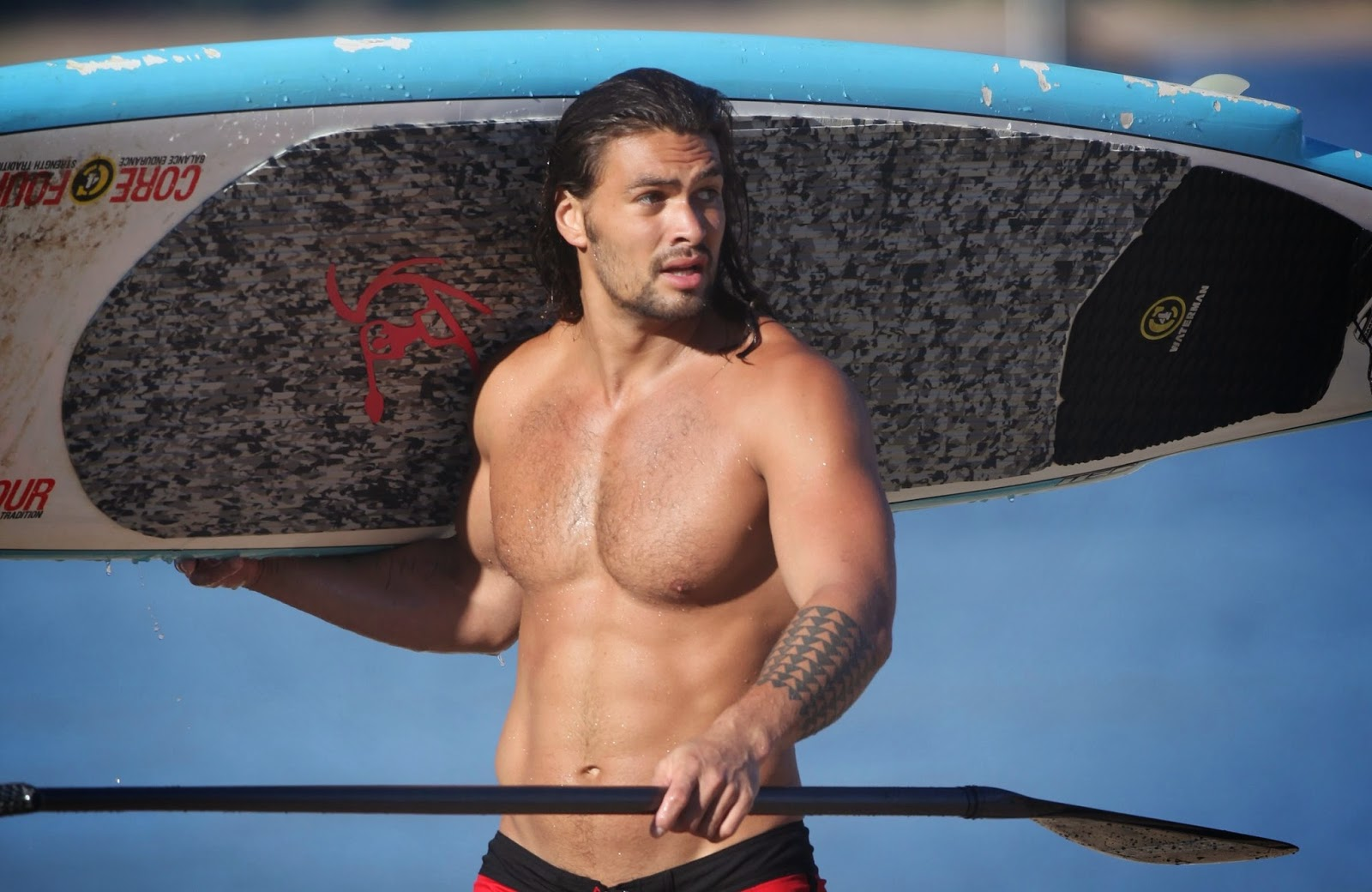 Jason Momoa: Wet Naked Poster Child For The Narrative Revolution