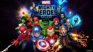 Marvel Mighty Heros mobile