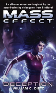 Mass Effect Deception by William C Dietz Del Rey Books