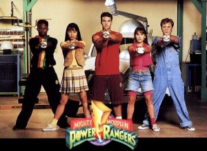 Mighty Morphin' Power Rangers, Saban, 1993