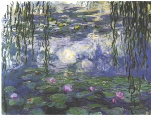 Claude Monet, Water Lilies, 1915