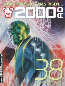 2000AD, Prog 1919; Writers: Various; Artists: Various (cover by John Higgins); Rebellion, 2015