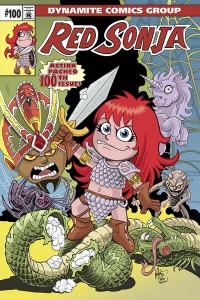 Review Red Sonja #100: Female Brains Destroy Men!