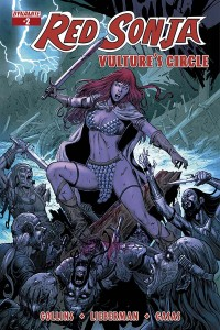Red Sonja: Vulture's Circle 2, Geovani cover, Dynamite 2015