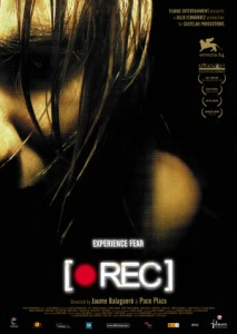 Poster for Theatrical Release of [Rec]