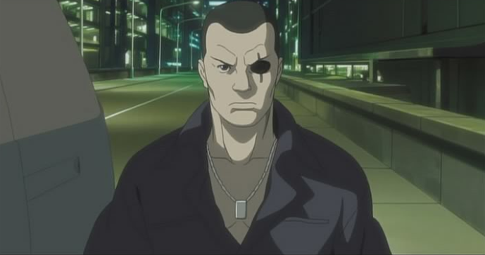 Saito, Section 9, Ghost in the Shell: Stand Alone Complex, Production IG, 2002