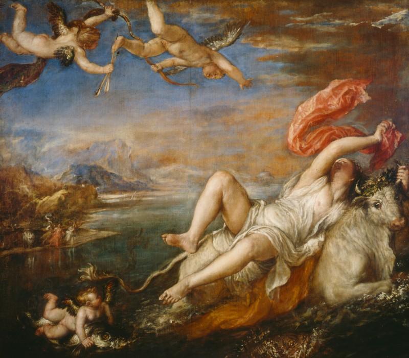 Europa, Titian