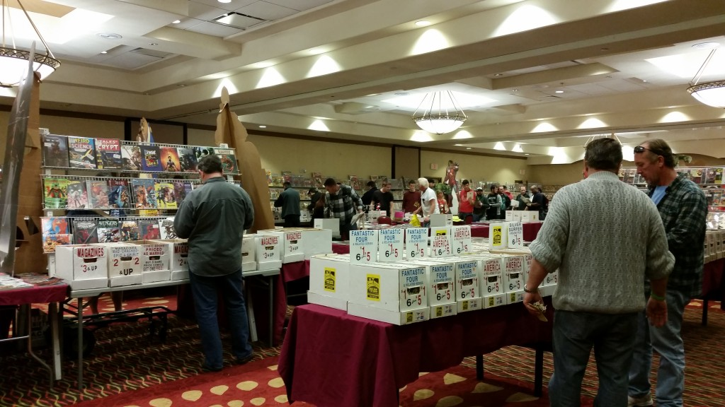 Showroom of the Comic Book & Toy Show