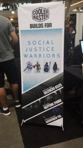 Social Justice Warriors sign