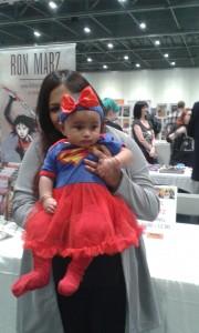 Superbaby; London Super Comic Con, 2015