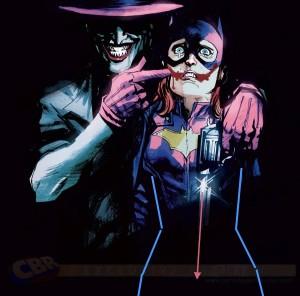 Batgirl 41 Joker Variant CBR exclusive Dc Comics 2015