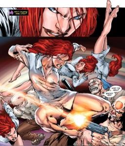 Batgirl #14. Written by Gail Simone. Art by Ed Benes and Daniel Sampere. DC Comics. Batgirl. Barbara Gordon. 2012.