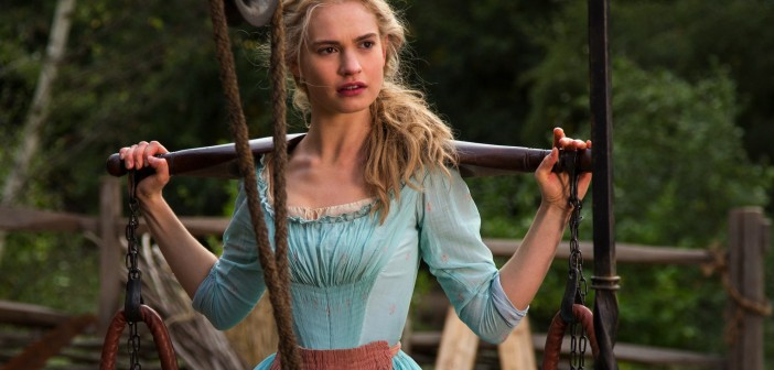 Lily James in Kenneth Branagh & Disney's CINDERELLA, 2015