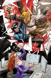 Convergence Nightwing and Oracle 1, writer Gail Simone, artist Jan Duursema, DC Comics 2015