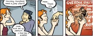 Girls With Slingshots, webcomic