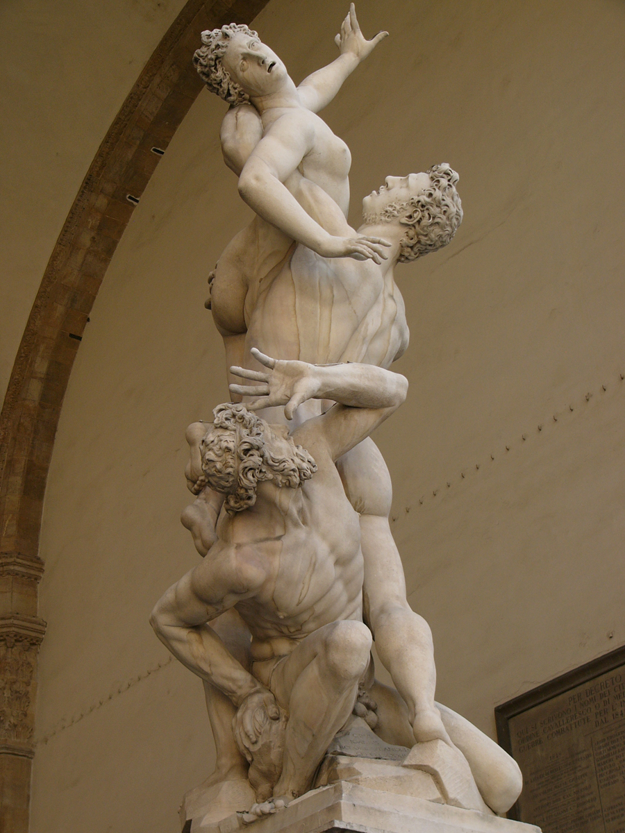 Rape of the Sabine Women, Giovanni Bologna