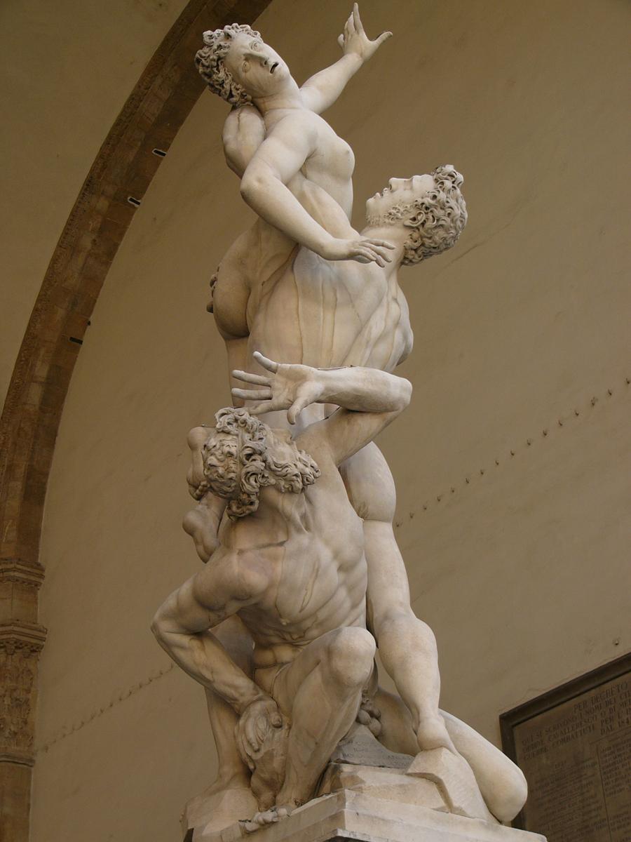 Rape of the Sabine Women, Giovanni Bologna