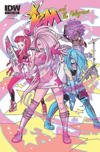 Jem and the Holograms #1 Kelly Thompson (W), Sophie Campbell (A) IDW Comics March 25, 2015