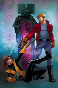 Legendary Star-Lord, Star Lord, Kitty Pryde, Cover