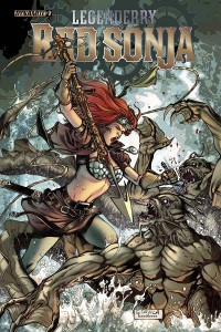 Legenderry Red Sonja #2, Andreyko and Davila cover, Dynamite 2015