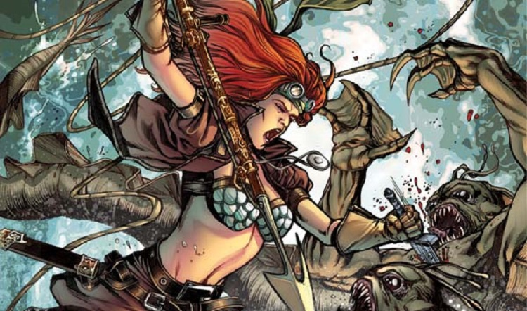 Legenderry: Red Sonja #2 or What Happens When You Give Red Sonja a Rocket Launcher