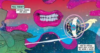 Author: Matt Fraction; Artist: Christian Ward; Ody-C, Image Comics, 2015