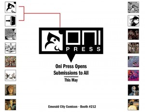Oni Press Open Submissions May 2015