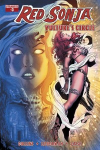 Red Sonja: Vulture's Circle 03 CovB Geovani, Dynamite 2015