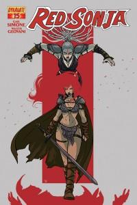 Red Sonja #15, Vieceli Variant, Dynamite 2015