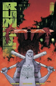Rumble-4-cover, writer john arcudi, artist james harren, colorist dave stewart, image 2015
